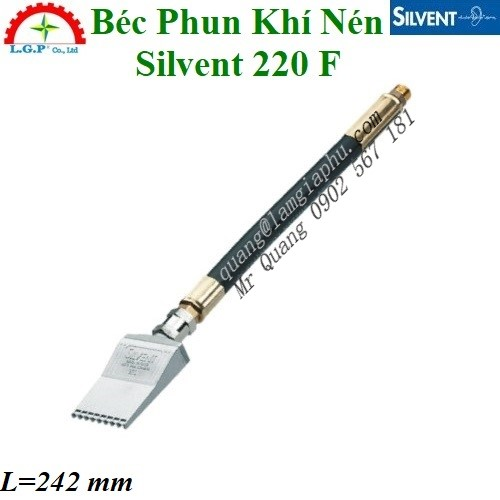 Vòi Phun Khí Silvent 220 F, Đầu Thổi Khí Silvent 220 F,
