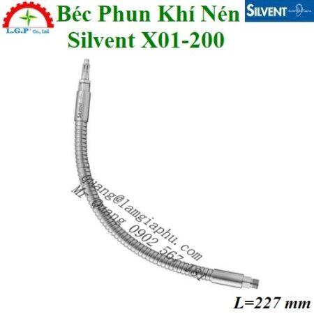Vòi phun khí Silvent X01-200, Đầu thổi khí Silvent X01-200,