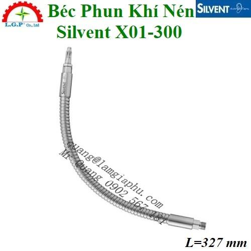 Vòi phun khí Silvent X01-300, Đầu thổi khí Silvent X01-300,